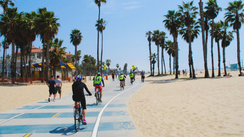 LA in a Day Bicycle Tour by Bikes and Hikes LA