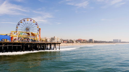 Hollywood & Santa Monica Beach Excursion from Las Vegas