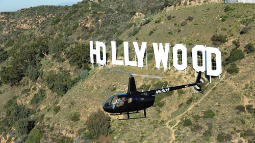 Hollywood Celebrity Helicopter Tour by Orbic Air