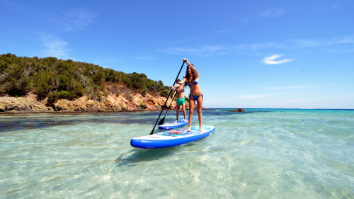 Chania Boat Tour & Paddleboard Yoga Session