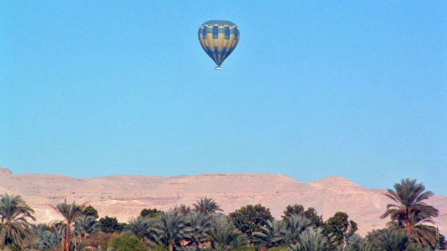 Hot Air Balloon Ride over Luxor's West Bank