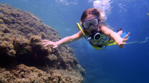 Diving Experience for Kids at Punta Negra
