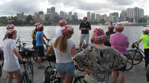Manly Beach Cycling Tour & Ferry Cruise by Bonza Bike Tours