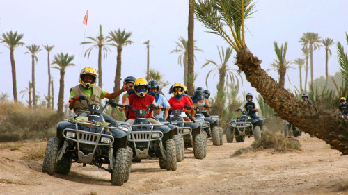 Quad Biking Safari Half-Day Tour