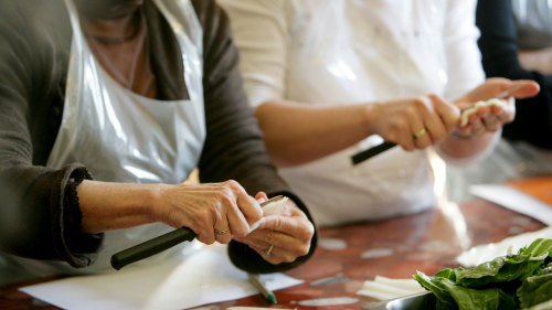 Small-Group Gourmet Cooking Class with Lunch & Market Visit