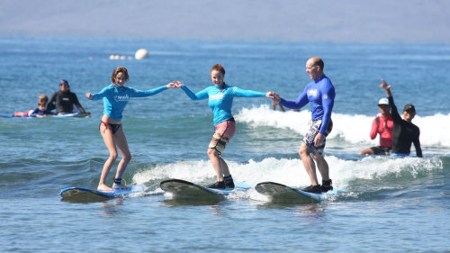Learn How To Surf in Kihei