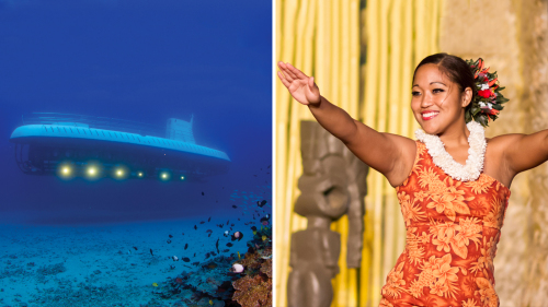 Royal Lahaina Luau & Atlantis Submarine Combo