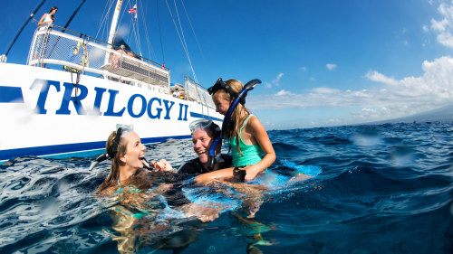 Discover Olowalu Snorkel Sail