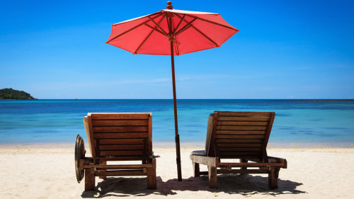 Beach Chairs & Umbrella Rental