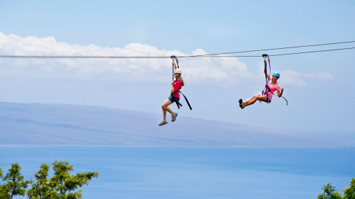 Zip & Dip 9-Zipline Adventure