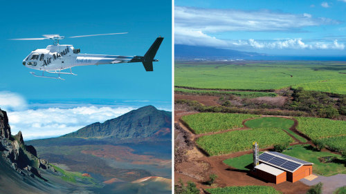 Haleakala Helicopter & Upcountry Maui Highlights Tour