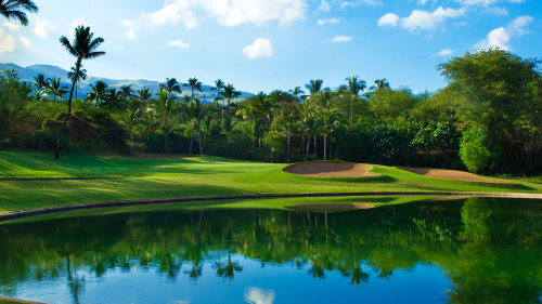 Golf at Wailea Blue Course