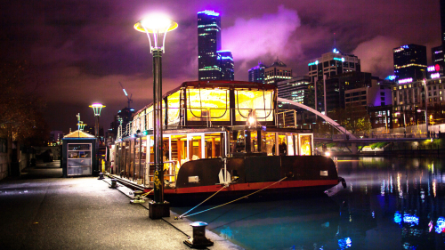 Spirit of the City Evening Cruise with 4-Course Dinner