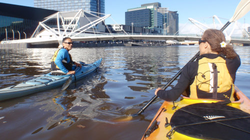 Small-Group City Sights Kayak Tour by Urban Adventures