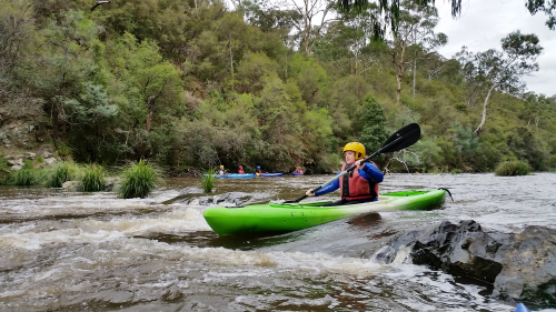 Whitewater Kayaking & Abseiling Tour by Kaykaze Adventure Experience