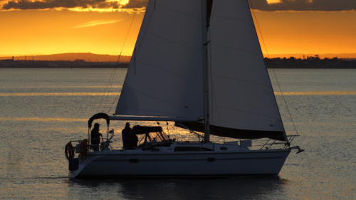Evening Yacht Cruise with Dinner by Victorian Yacht Charters