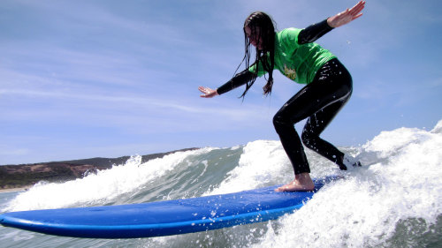 Introduction Surfing Lesson by Great Ocean Road Surf Tours