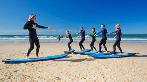 Torquay Beach Surfing Lesson by Go Ride a Wave