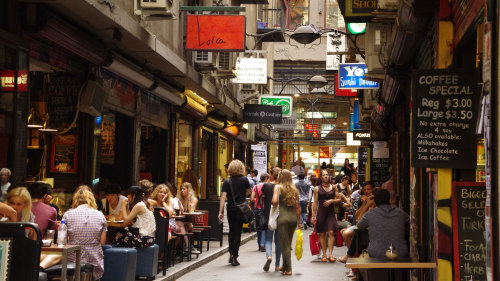 Morning City & Laneways Tour by Gray Line