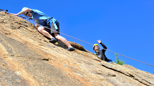 Rock Climbing & Abseiling Tour by Kaykaze Adventure Experience