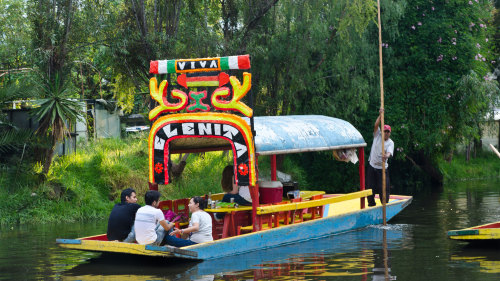 Xochimilco Canals & Frida Kahlo Museum