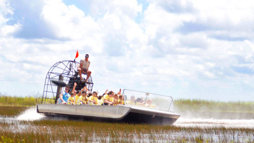 Everglades Adventure and Miami Boat Tour