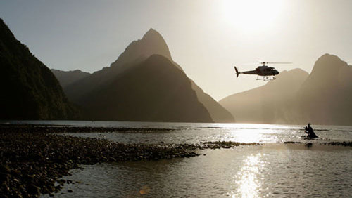 Milford Sound Flight & Glacier Landing by Glacier Southern Lakes Helicopters