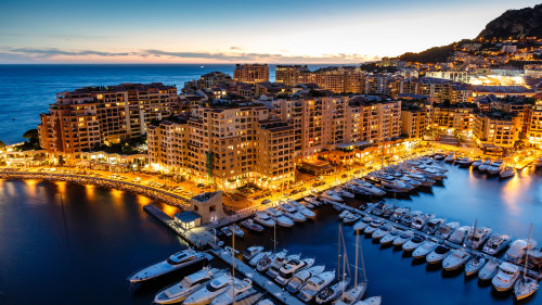 Small-Group Monaco & Monte Carlo by Night Tour
