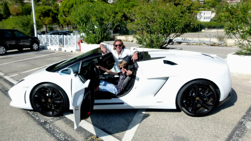 Lamborghini Ride with Professional Driver