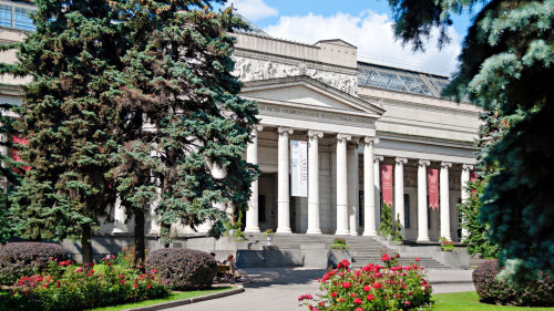 Pushkin Museum of Fine Arts Guided Tour