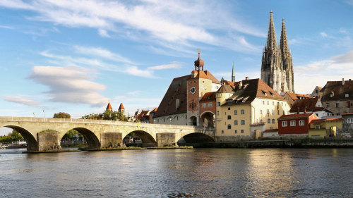 Regensburg Day Trip by Train
