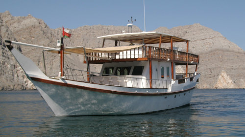 Musandam Omani Full-Day Dhow Boat Cruise with Lunch