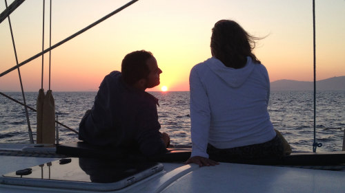 Private Sunset Cruise to Rhenia