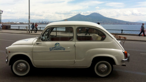 Private Sightseeing Tour by Vintage Fiat 600