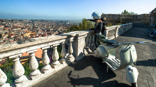 Private Sightseeing Tour by Vintage Vespa