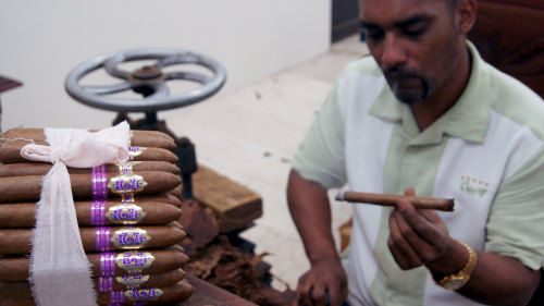 Cigar Rolling Lesson