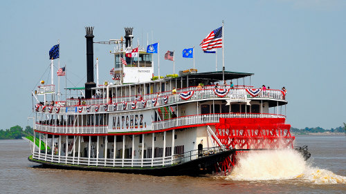 Gray Line New Orleans: Steamboat Natchez Daytime Jazz Cruise