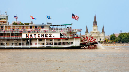 Gray Line New Orleans: Steamboat NATCHEZ Jazz Brunch Cruise