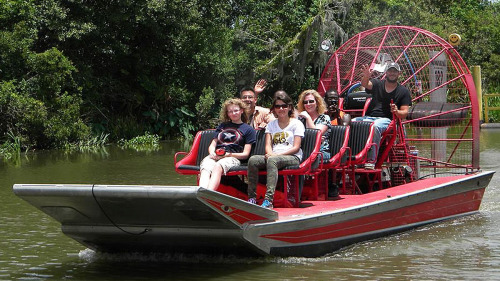Airboat Tour (Small Boat)