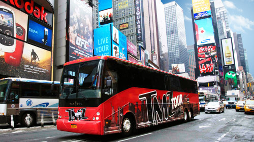 TMZ Celebrity Bus Tour & Madame Tussauds Wax Attraction