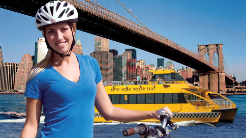 Bike the Brooklyn Bridge & Water Taxi Ride