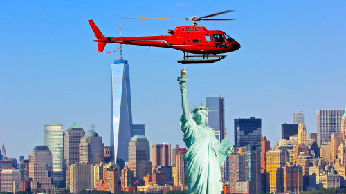 Helicopter Tour of Landmarks by Liberty Helicopters