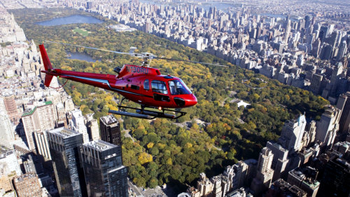 Helicopter Tour: All 5 Boroughs & Central Park by Liberty Helicopters
