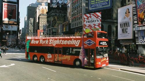 Manhattan Experience Bus Tour with Optional Boat Cruise & Lunch