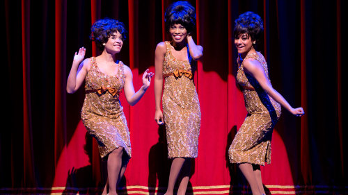 Motown: the Musical on Broadway