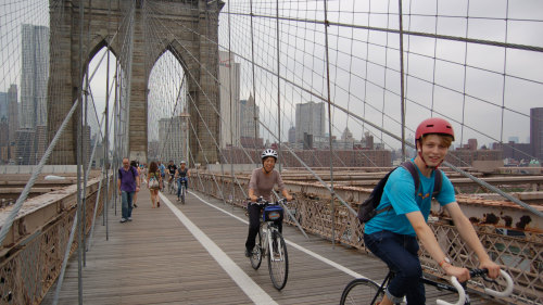 Hudson River Waterfront & Brooklyn Bridge Bicycle Tour
