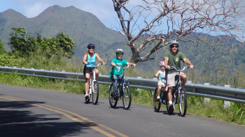 Oahu Bike & Waterfall Hike
