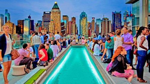 Rooftop Lounge Experience by The New York Nightlife