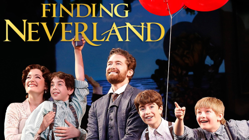 Finding Neverland on Broadway