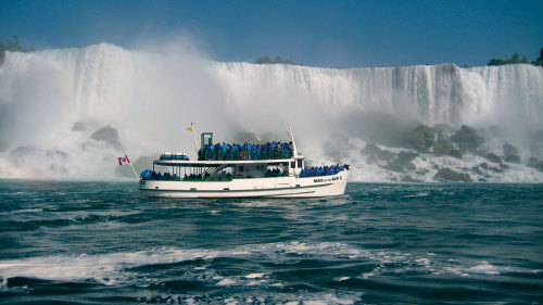 American Tour of the Falls & Boat Ride